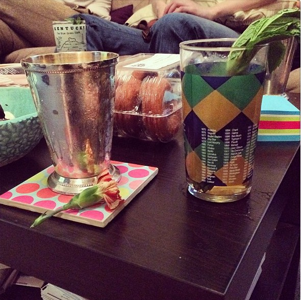 bourbon, mint-juleps, kentucy, derby, zelda-and-scout, jennifer-harlan, jen-harlan