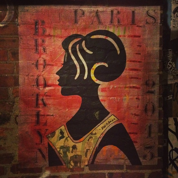 brooklyn, paris, williamsburg, street-art, zelda-and-scout, jennifer-harlan, jen-harlan