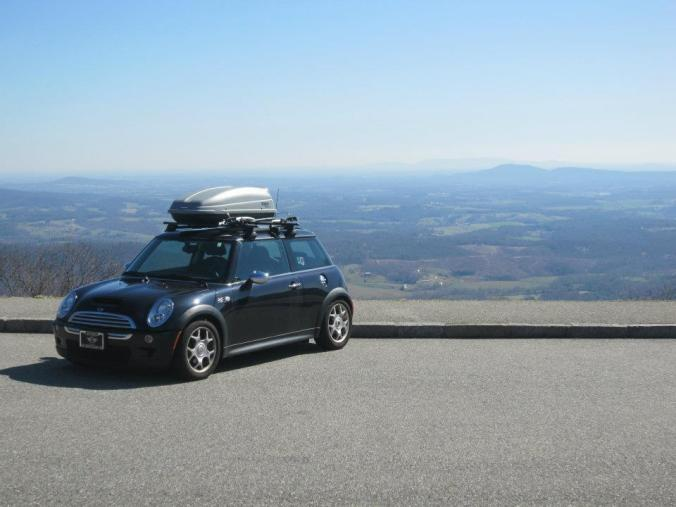 Blue-Ridge-Parkway, Roadtrip, Mini-Cooper,