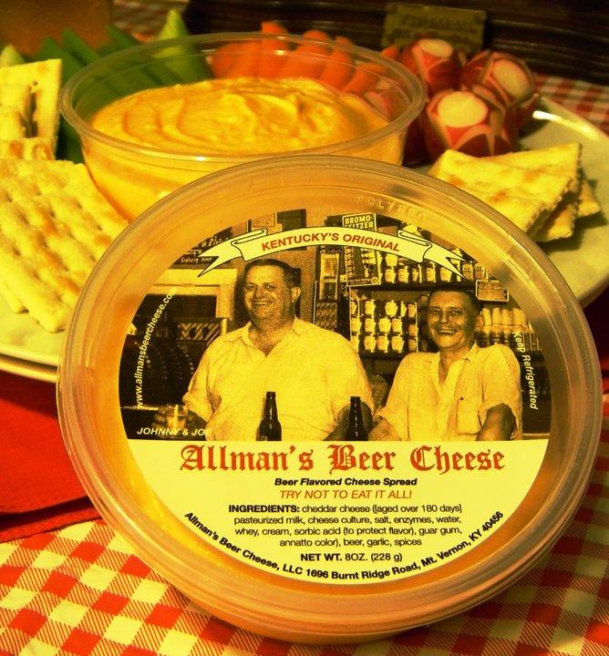 allman's-beer-cheese, beer-cheese, kentucky