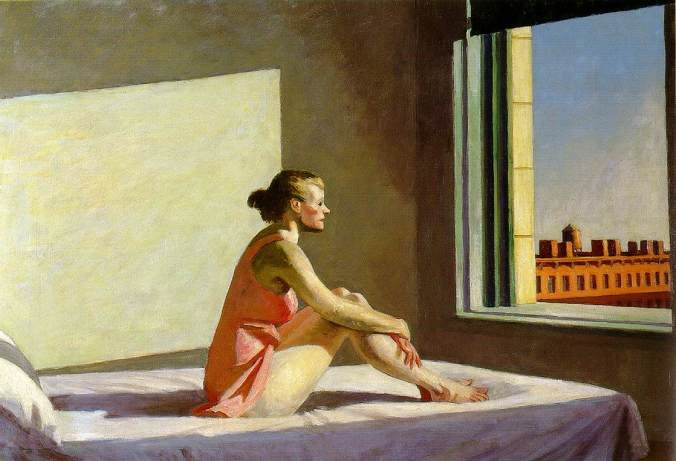 Morning Sun (1952) Edward Hopper