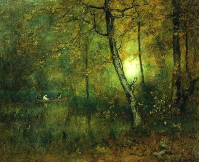 Pool in the Woods (1892) George Inness