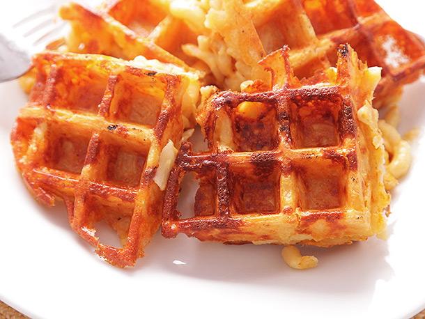 Mac & Cheese Waffles