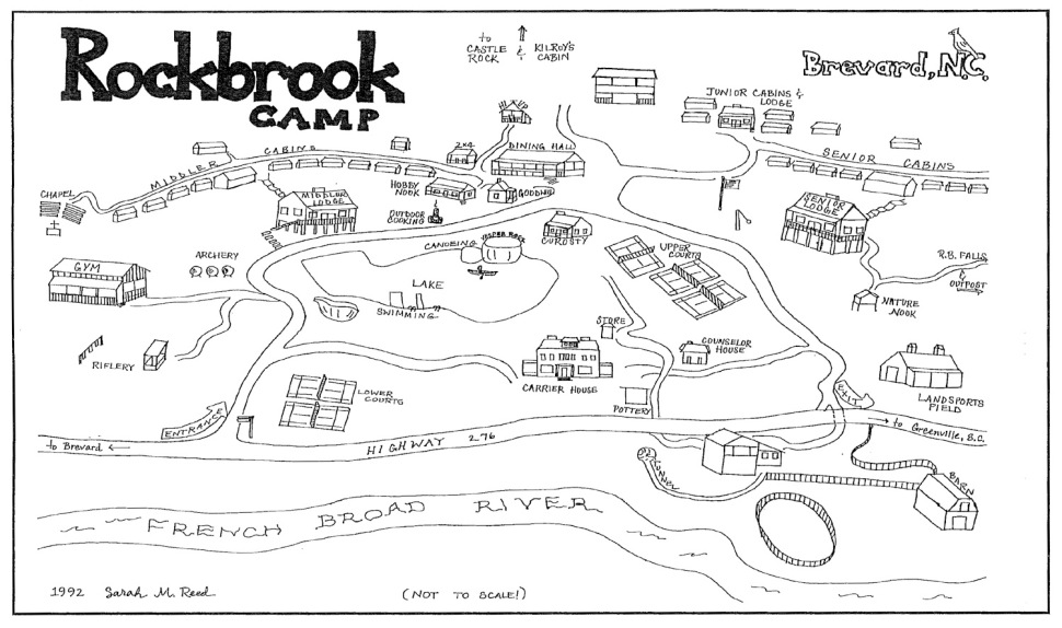 The scene of my girlhood dreams (Via Rockbrook Camp)