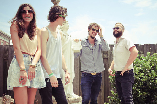 Our hometown favorites, Houndmouth (via Ticketfly)