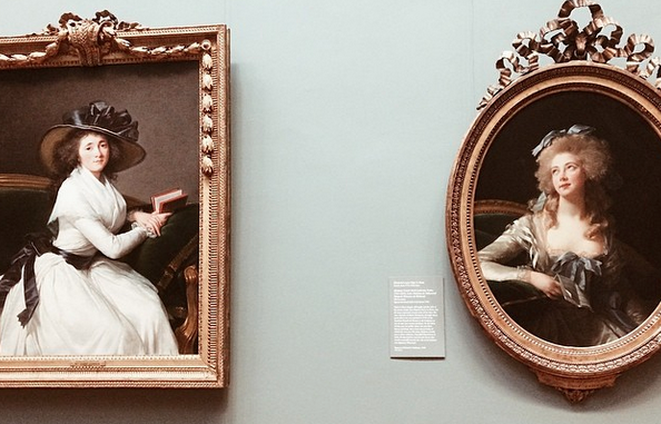 Some serious sass captured on a tuesday morning at the Met.