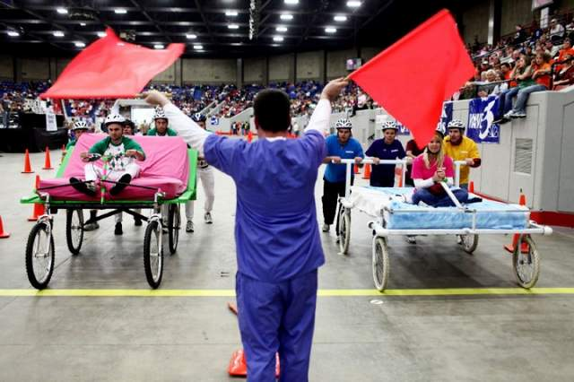 The Great Bed Races (Via Courier-Journal)
