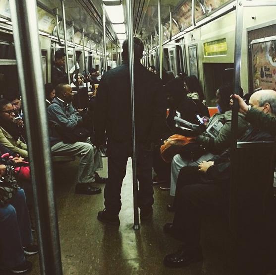 Uptown Funk --- Zelda's daily commute.