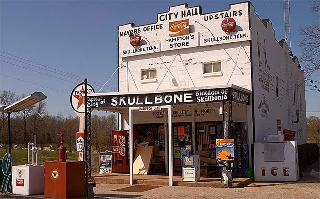 The Skullbone General Store, Skullbone is one of the real inspirations for Gut shot (Via HelloGiggles)
