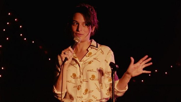 In Obvious Child, Jenny Slate's Donna pursues a career in Brooklyn's comedy scene (via Sydney Morning Herald)