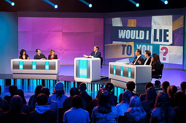 Would I Lie To You, a panel show hosted by Welsh comedian Rob Brydon