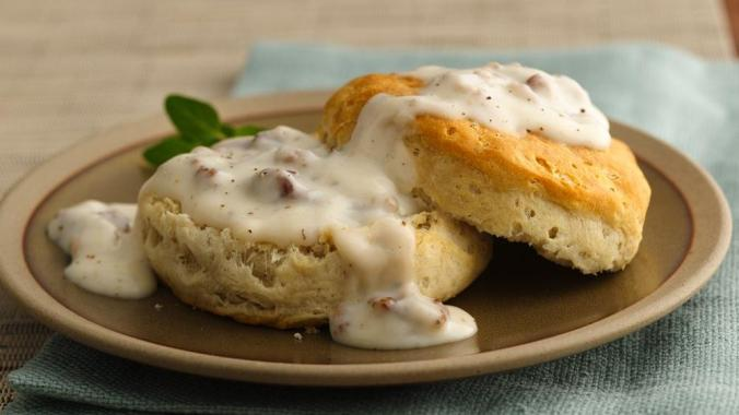 unbeatable-sausage-gravy-and-biscuits-hero